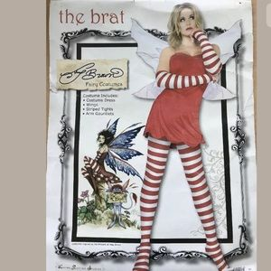 The Brat Fairy Wings Costume Adult Womens M